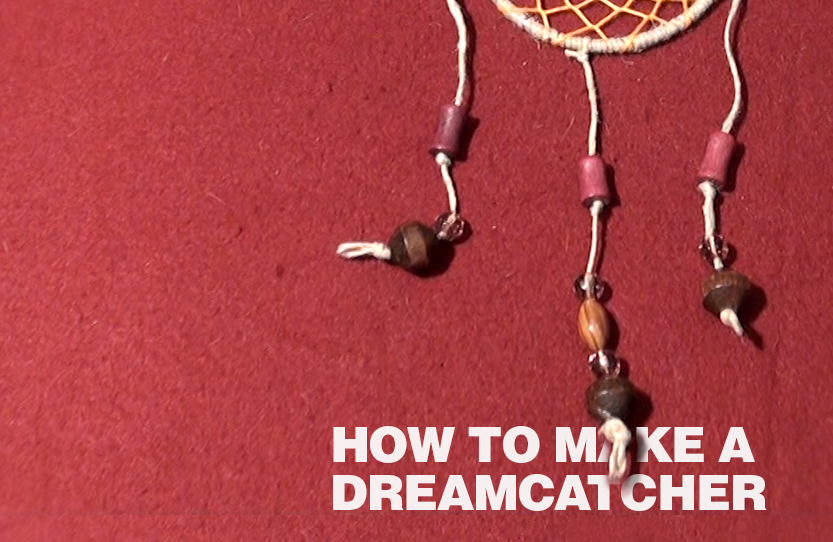 how to make a simple dreamcatcher for kids
